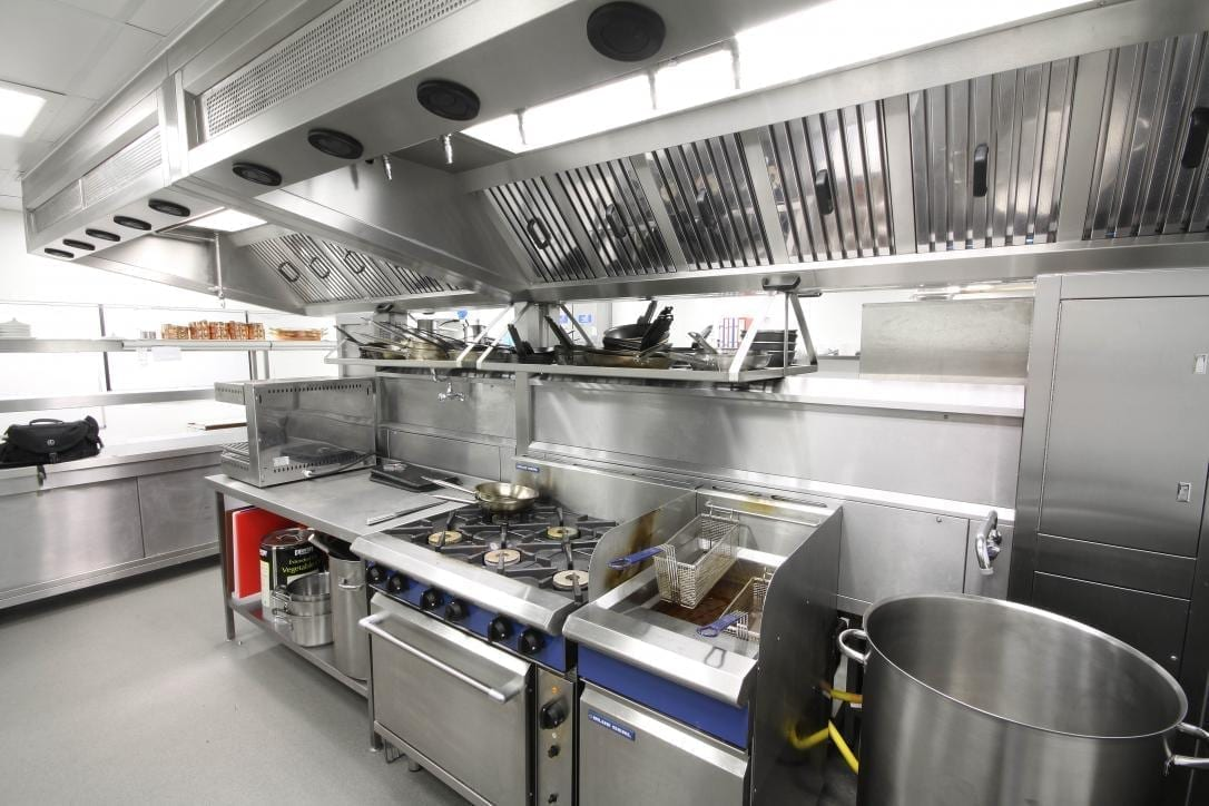 Ellenborough Park Hotel Cheltenham Restaurant Kitchen Fabrication Stainless Steel Commercial spacecatering 5