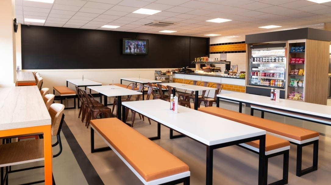 Canteen fit-out