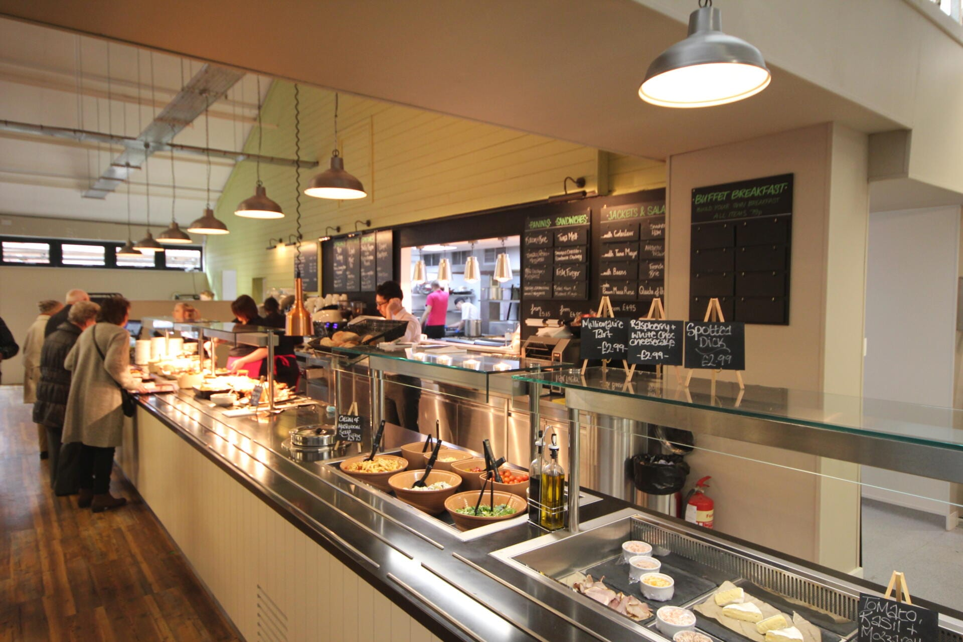 St Peters (drop in chilled deli, servery counter)