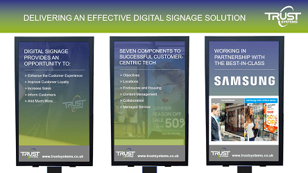 Digital Sigange Solution video