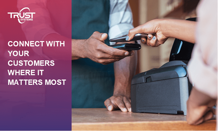 Connect with your customers with POS