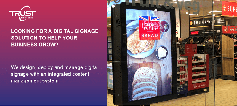 Looking for an digital signage solution