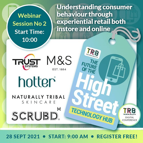The Future of the High Street event. Register Now.