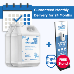 2x 5 litre sanitisers 24 month free