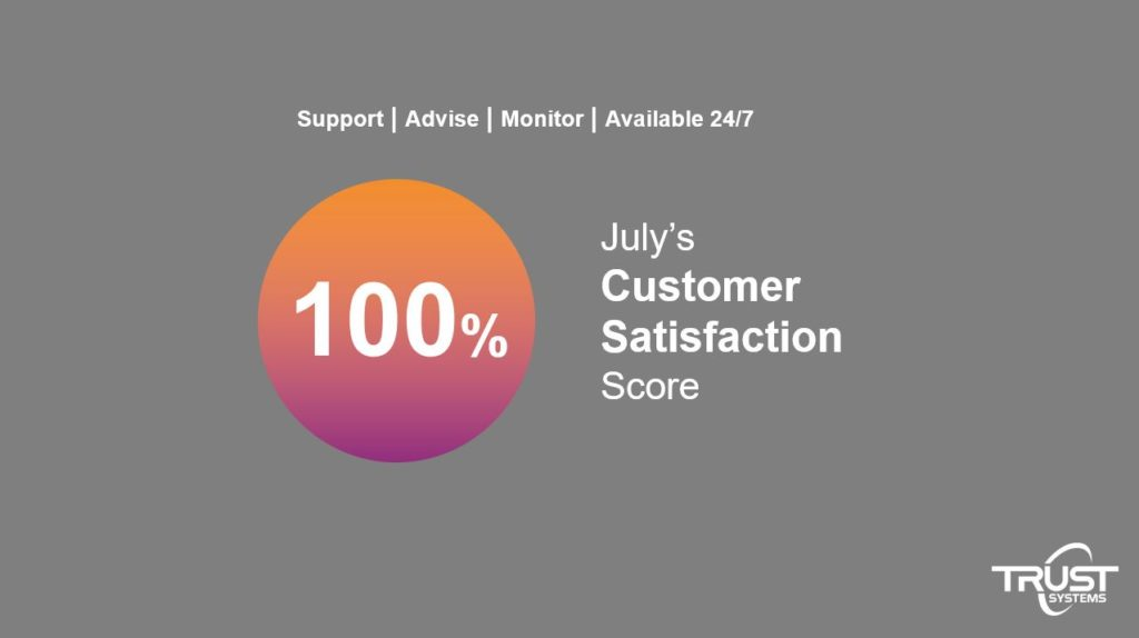 July customer stat score pic
