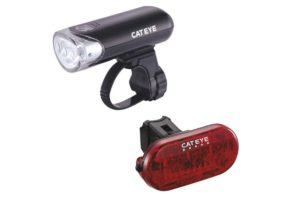 Cateye Front And Rear Light Set