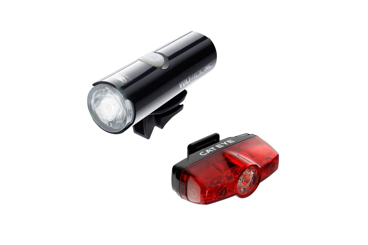 Cateye Volt Front And Rear Light Set