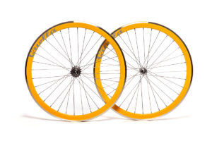 Quella Yellow 40mm Deep-V 700c Wheelset