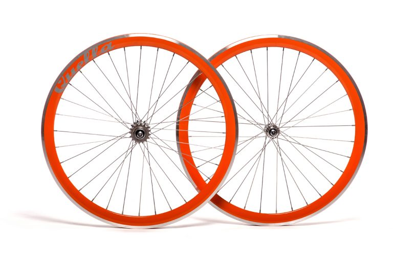 Quella Orange 40mm Deep-V 700c Wheelset