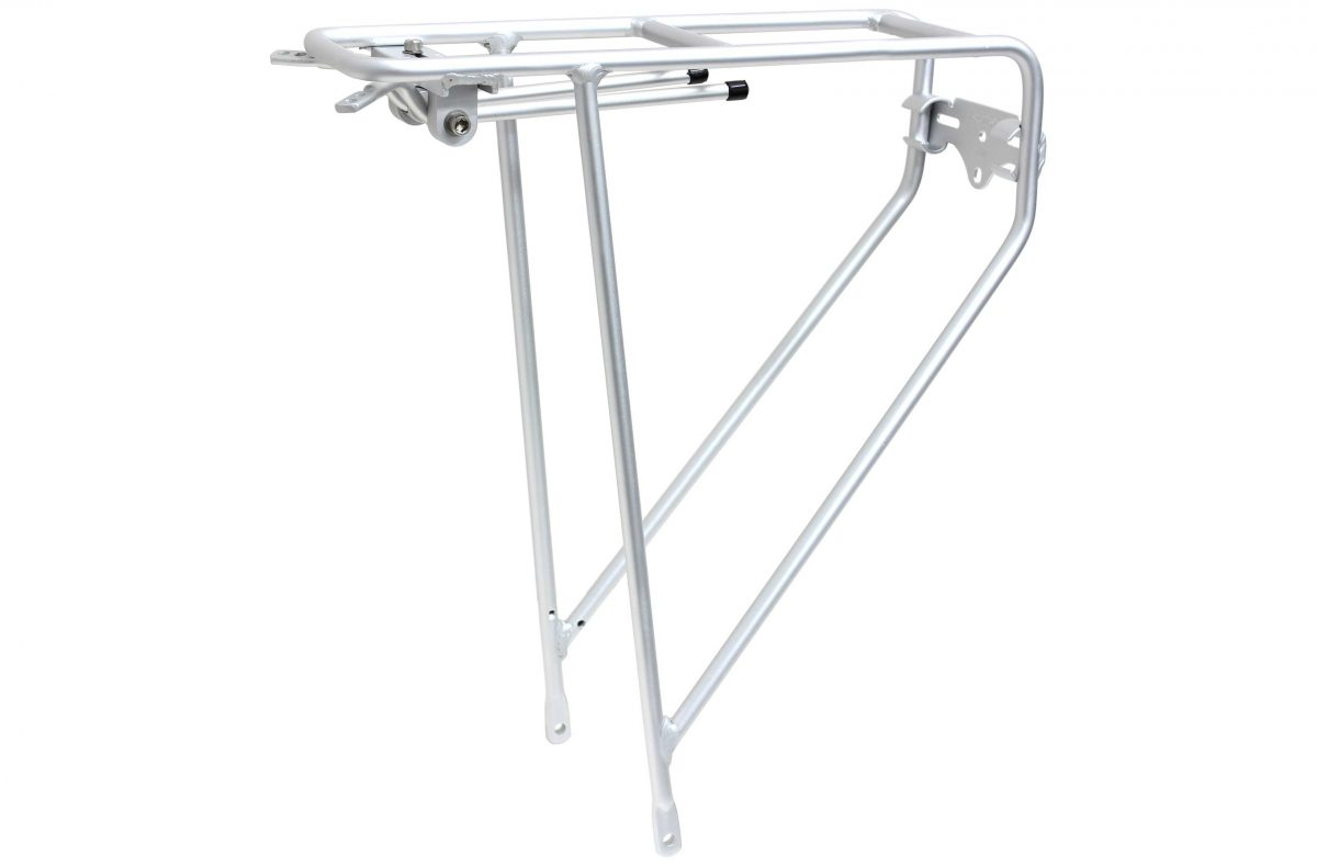 Tortec Tour Ultralite Rear Rack – Silver
