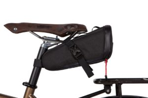 Bike commuter seat pack bag