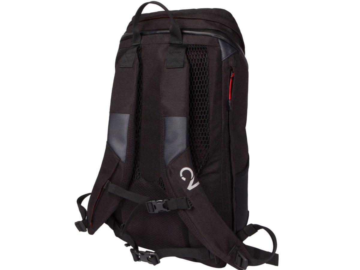 Two Wheel Gear – Commute Backpack-Black-back-closed
