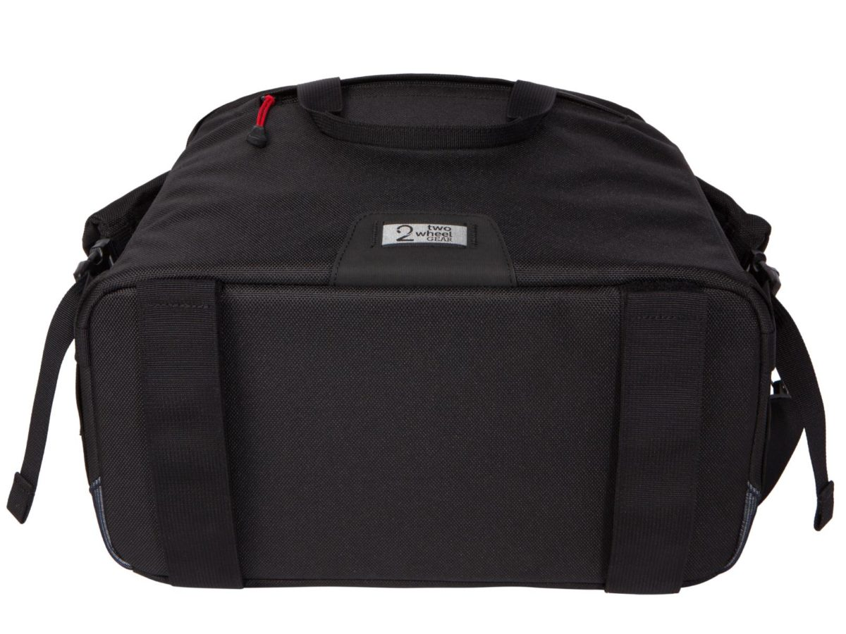 Two Wheel Gear – Dayliner Box Bag – Black-bottom
