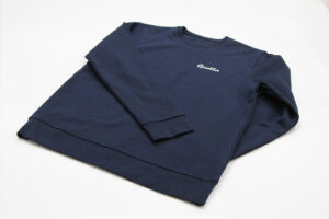 Quella Organic Cotton Sweatshirt - Navy