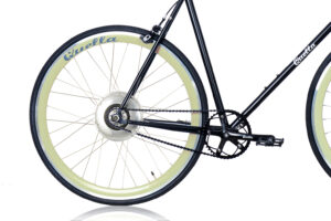 Electric Quella upgrade - Cream Rear Wheel