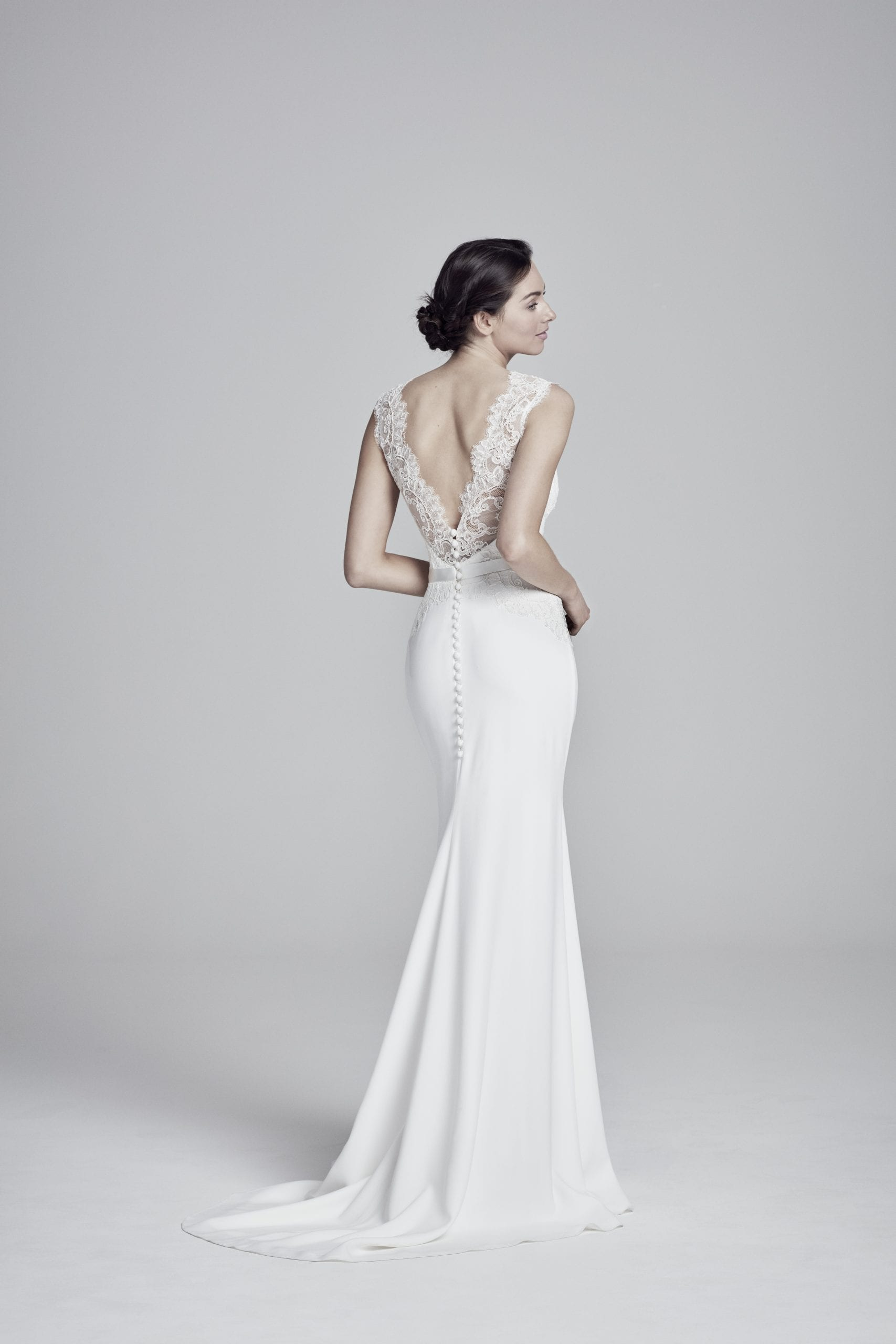 Antionetta Wedding Dress (Back) - Suzanne Neville